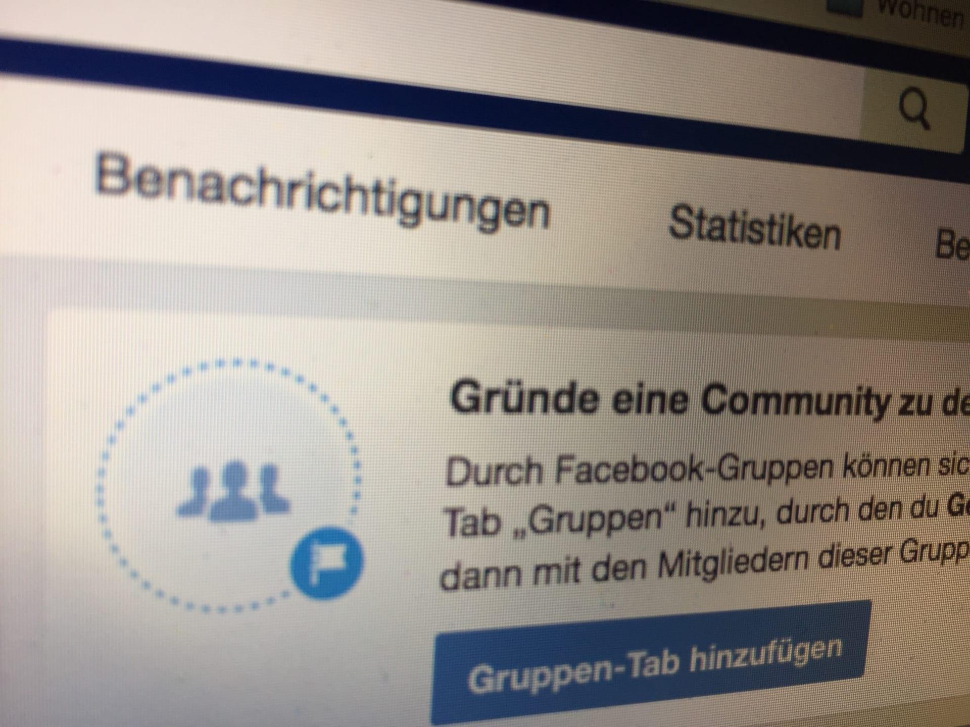 Facebook Seite zum Gruppen-Admin machen