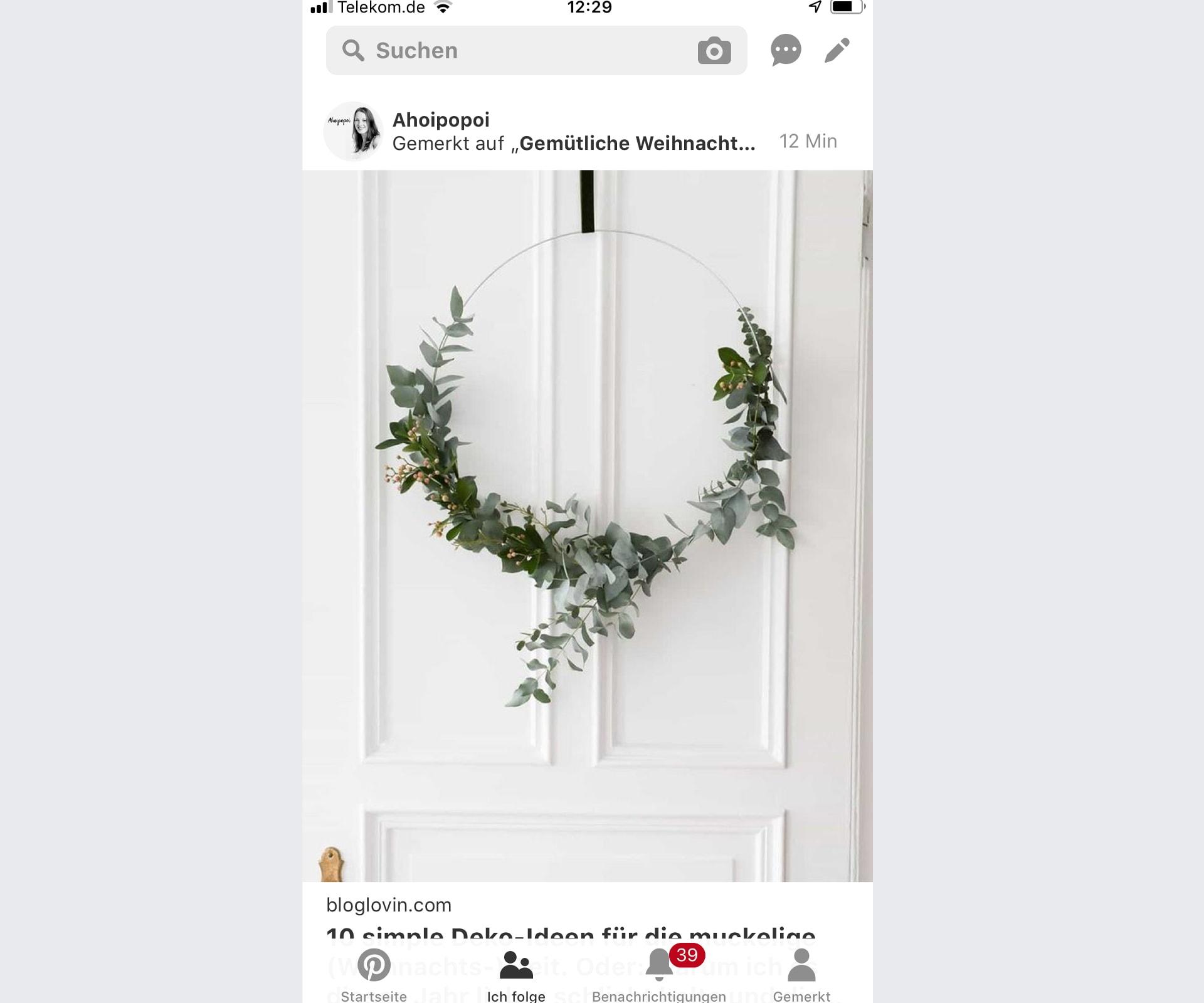 Pinterest passt sein Design an Instagram an